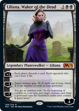 Magic: The Gathering - Liliana, Waker of The Dead - Core Set 2021