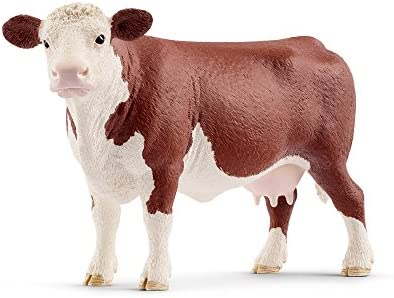 SCHLEICH Farm World, Animal Figurine, Farm Toys for Boys and Girls 3-8 Years Old, Holstein Cow