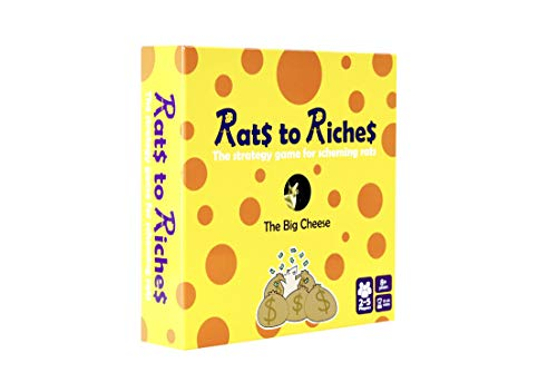 Accentuate Games Ltd AGLR2R Rats to Riches Board Game