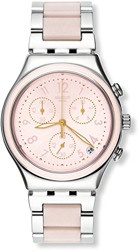 Swatch IRONY CHRONO Dreamnight Rose ycs588g reloj
