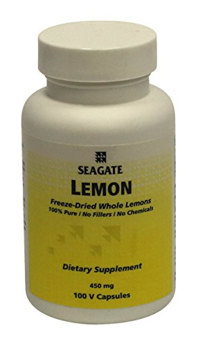 Price comparison product image Seagate Products Whole Lemon Concentrate 450 mg 100 Capsules