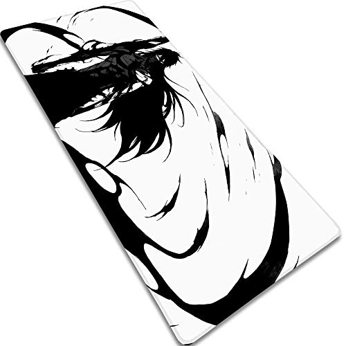 Gaming Mouse MatGrim Reaper-1 800X300X3MM XL Large Mouse Mat, Xxl Comfortable Keyboard Gaming Pad With Non-Slip Rubber Base Anime Mouse Pad For Laptop, Computer