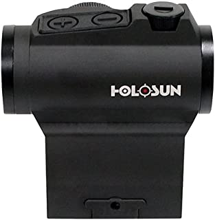 HOLOSUN HS503BU, Micro Red Dot Sight, with Circle Dot, 2 MOA & 65 MOA Circle, Matte Black