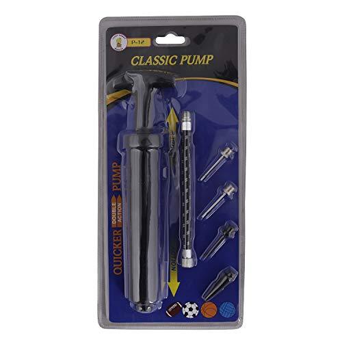 NFI essentials Football Pump P-12 Y30 (Black)