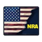 NRA National Rifle Association Alfombrillas De Ratón Alfombrilla Antideslizante para Juegos Alfombrilla para Trabajar, Jugar Y Otros Entretenimientos