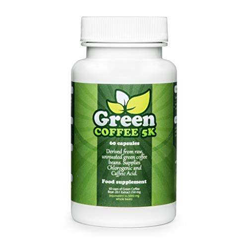 GREEN-COFFEE-5K Premium, gegen Übergewicht, schnelle Gewichtsabnahme, beschleunigt den Stoffwechsel, enorme Fettverbrennung, für schöne, junge Haut und eine schlanken Figur!