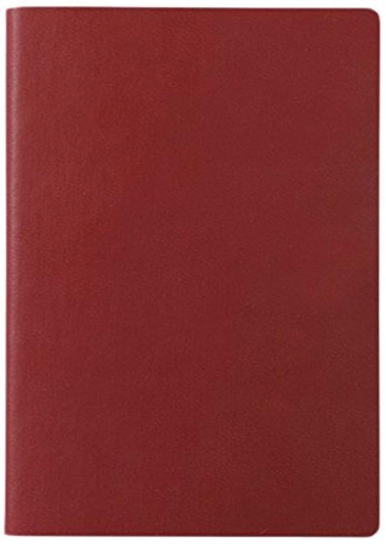 ダイゴー ノート Signature Duo Notebook A5 Red/Burgun N75194 【まとめ買い2冊セット】
