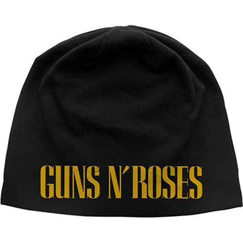 Rock Off Guns N' Roses: Logo (Discharge Print) (Berretto) Merchandisin