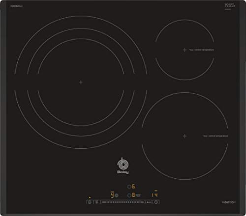 Balay 3EB967LU piano cottura Nero Incasso A induzione