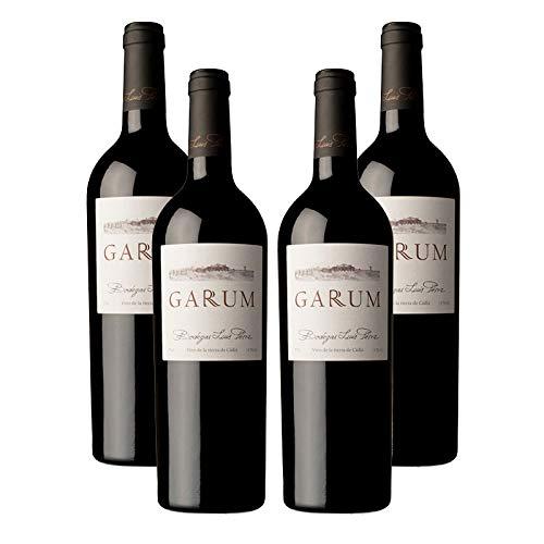 Vino Tinto Garum de 75 cl - D.O. Cadiz - Bodegas Luis Perez (Pack de 4 botellas)