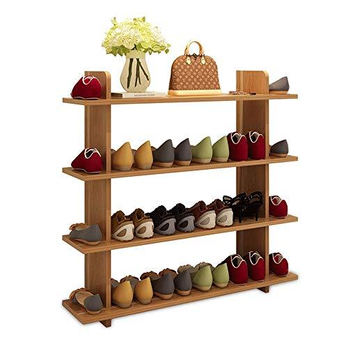 Range-Chaussures en Bambou De Grande Capacité, Armoire À Chaussures Multicouche Économique Simple Et Moderne, Convient À La Famille, Au Salon, Etc.