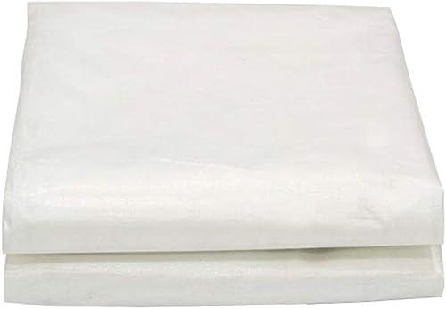 GLPBache de Prougeection en Toile de bache en Plastique imperméable épaisse et résistante en Toile de bache en Plastique (Taille   8mx8m)