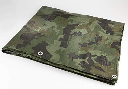 Westfalia Holzstapelabdeckplane Camouflage 1,5 x 12 m