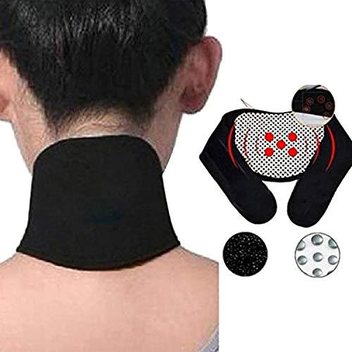 Kloius Soporte Autoprotección Vértebra Cervical Guardia de Calefacción Espontánea Correa para el Cuello Collarines