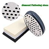Grinder Double-Sided Diamond Whetstone Flattener, 220/360 Grit Whetstones or Waterstones Fixer, Sharpening Stone Repairing Tool