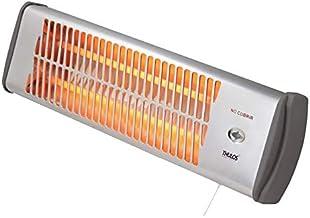 Thulos Calefactor eléctrico Mural (Tacos y Tornillos adjuntos), Ideal para Cuartos de baño. Cuenta con 2 ajustes de Temperatura (600-1200W).TH-FHW111