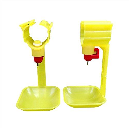 Adhere To Fly 10 PCs Trinkbecher Chicken Hanging Automatische Wasserschale Nippel Trinker Chicken Farming Tools