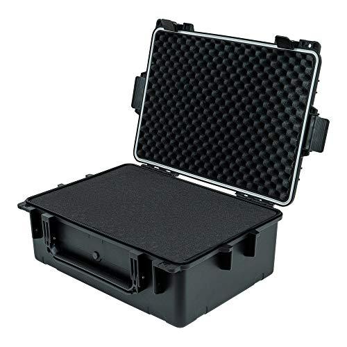STIER Universal Outdoor Koffer flugtauglich 573x413x213 mm, wasserdichte Box, Kamerakoffer, Transportbox, Kunststoffbox
