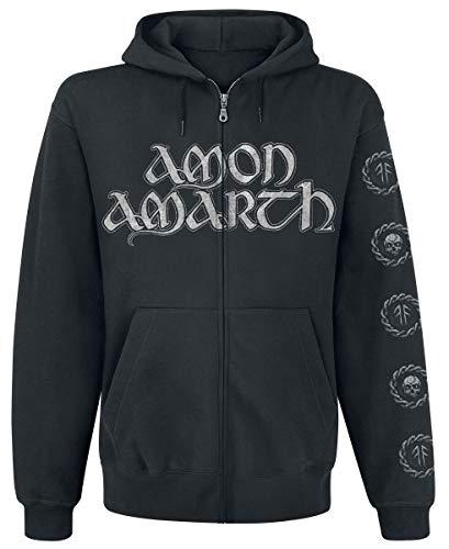 Amon Amarth Skullship Männer Kapuzenjacke schwarz L
