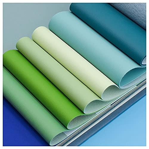 telas para tapizar sillas 6piezas De Trajes De Tela De Cuero Artificial Telas Por Metro Multicolor De Varios Tamaños Serie Verde De Frutas Kit Práctico De Bricolaje He(Size:1.37M*5M,Color:Color 62#)