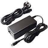 PFMY Chargeur Adaptateur 65W USB Type-C Alimentation Ordinateur Portable pour Lenovo Yoga 910 920...