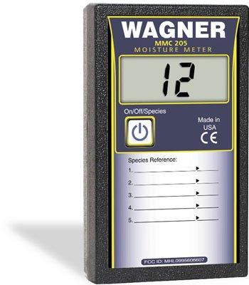 Wagner MMC205 Shopline 5% to 20% Pinless Digital Wood Moisture Meter -