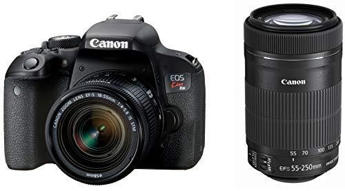 Canon キヤノン デジタル一眼レフカメラ EOS Kiss X9i ダブルズームキット EF-S18-55mm/EF-S55-250mm 付属 ...