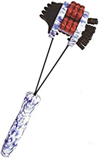 マッサージハンマー木製の体は、筋肉の結び目を緩めるために治療的な頭皮と背中スクラッチャーの首肩背中脚マッサージ
