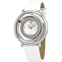 Versace Venus Quartz White Dial Ladies Watch