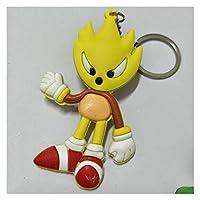 キーチェーン アニメKey Chain 3D二重サイドキーホルダーPVCゴム漫画キーホルダーキッズ玩具キーホルダートリンケットギフト (Color : 12)