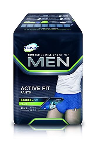 Tena men active fit plus tamaño grande vejiga debilidad pantalones.