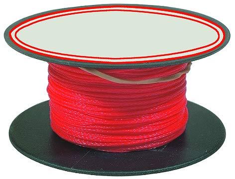 Stubai 443105 - Cordel de albañil en carrete (diámetro de 1 mm, 50 m) color rojo