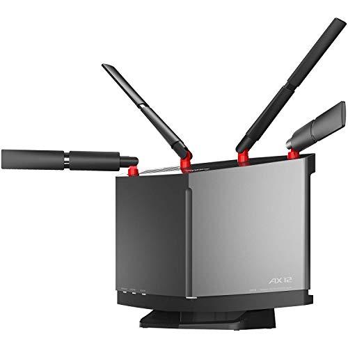 バッファロー WiFi ルーター無線LAN 最新規格 Wi-Fi6 11ax / 11ac AX6000 4803+1147Mbps 日本メーカー 【iPhone12/11/iPhone SE(第二世代)メーカー動作確認済み】WXR-6000AX12S/N