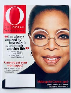 O The OPRAH MAGAZINE MARCH 2020 (Makeup for grown-ups)