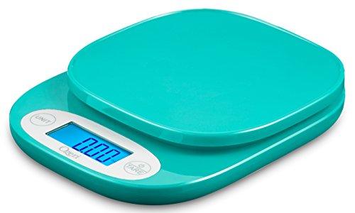 Ozeri Zk420Jardin et balance de cuisine, avec précision de 0,5g (0,3gram) avec la technologie bleu sarcelle