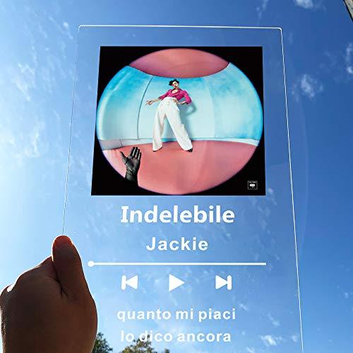 Personalizzato Spotify Code Acrilico Music Board Personalizzato SpotifyGlass Personal Mini Polaroid Photo Style Acrilico Anniversario Photo Album Targhetta Personalizzata Musica Targa