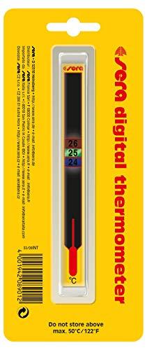 sera 08901 digitale thermometer - bijzonder aantrekkelijke, digitale kleefthermometer voor aquarium