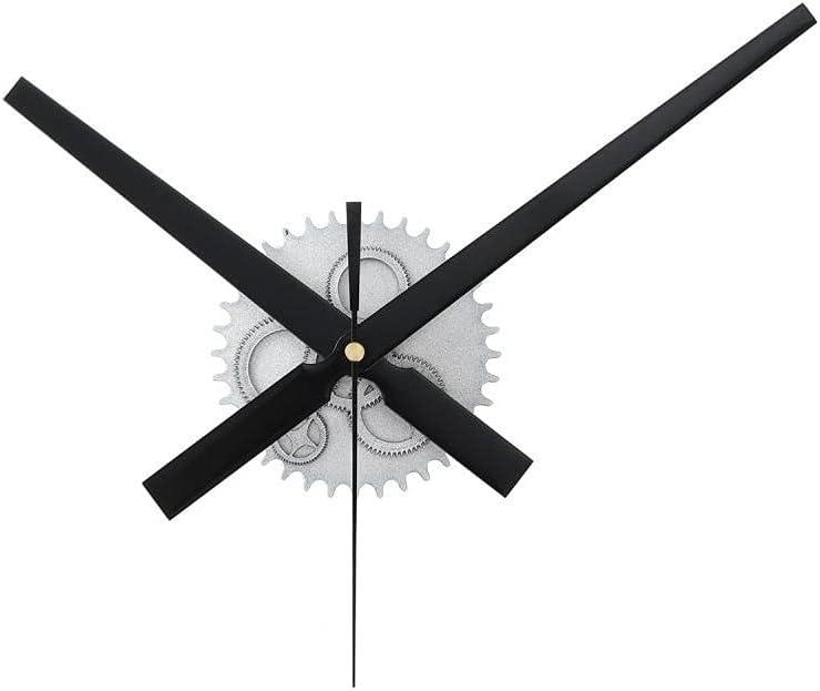 SLSFJLKJ 3D Wall Clock Creative Gear Quartz Max 44% OFF Wooden Mov DIY supreme