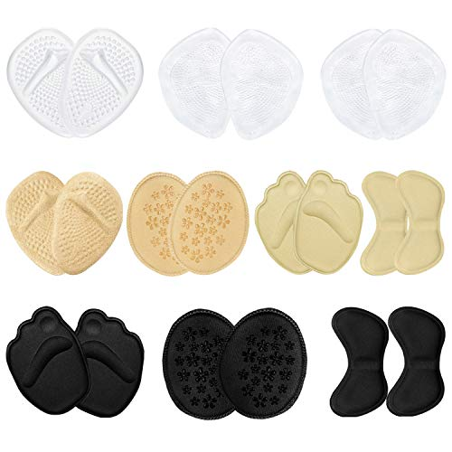 HBselect 10 Pares Almohadillas Para Pies,Plantillas Zapatos