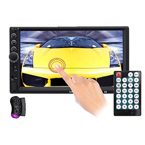 AutoradioAutoradio da 7 Pollici Autoradio Auto MP5 Lettore Bluetooth Touch Screen Vivavoce USB FM AUX TF Supporto Interconnessione MobileSistemi Multimediali per Auto