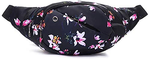 Ausion Waist Pack Bag Chest Shoulder Fanny Pack Pouch with 4 Zipper Pockets Adjustable Belt product image