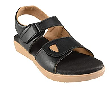 HEALTH FIT Extra Soft Ortho Care Diabetic & Orthopedic Sandal/Doctor Sandal Footwear with Arch Support - Women