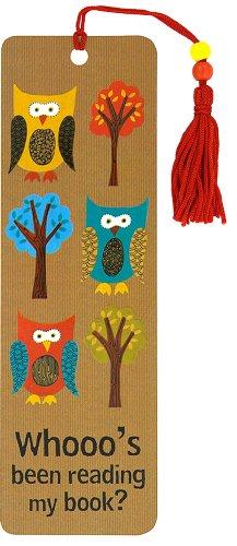 Owls Beaded Bookmark