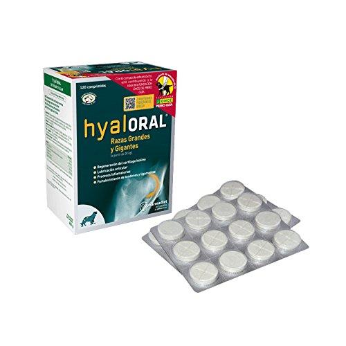 HYALORAL RAZAS GRANDES 360 comprimidos