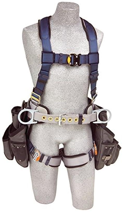 継承不信礼拝Capital Safety 1108517 ExoFit Construction Style Harness with Tool Pouches, Medium by Capital Safety