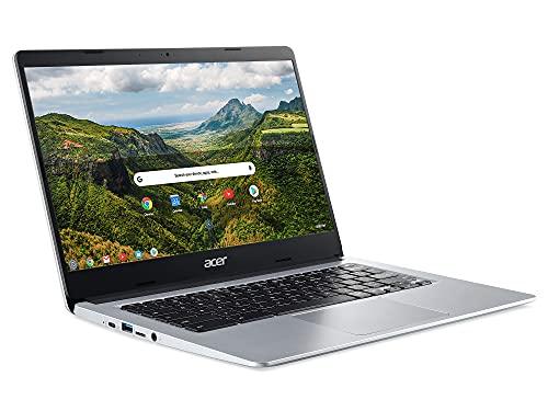 Acer Chromebook 314 CB314-H - (Intel Celeron N4000, 4GB RAM, 64GB eMMC, 14 inch Full-HD display, Chrome OS, Silver) – Amazon Exclusive