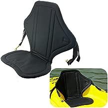 Welugnal Standard Sit-On-Top Seat Fully Adjustable Kayak Padded seat and Backrest Canoe Marine