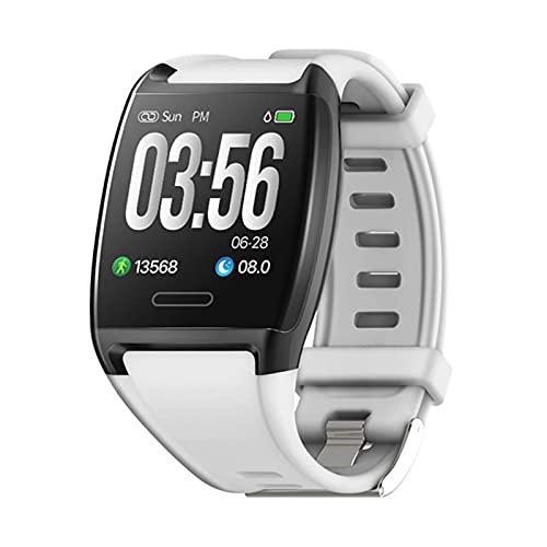 LLM V2 Smart Watch 1.3 Pulgadas Smart Fitness Pulsera IP67 Rastreador de Ejercicios a Prueba de Agua Presión Arterial de frecuencia cardíaca con rastreador de Actividad(B)