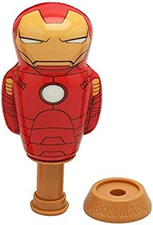 Imperial Licensed Power Popper Iron Man Action Figure Toy -  5 Years   Above   Red/Yellow