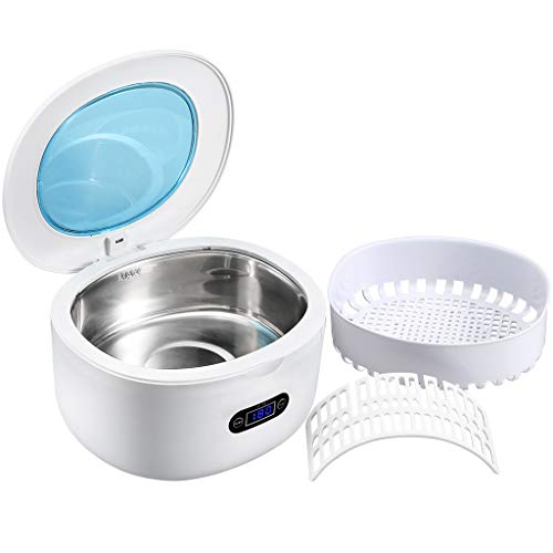 Ultraschallreiniger Reinigungsgerät 750ml GT SONIC Ultraschallreinigungsgerät Digital Ultrasonic Cleaner Edelstahl Ultraschallbad mit Uhrenhalter und Reinigungskorb für Brillen Schmuck Uhren 40KHz